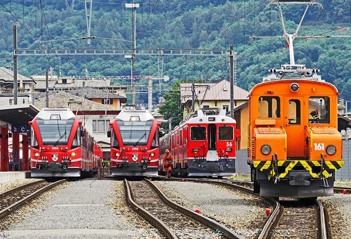 El chacachá del tren